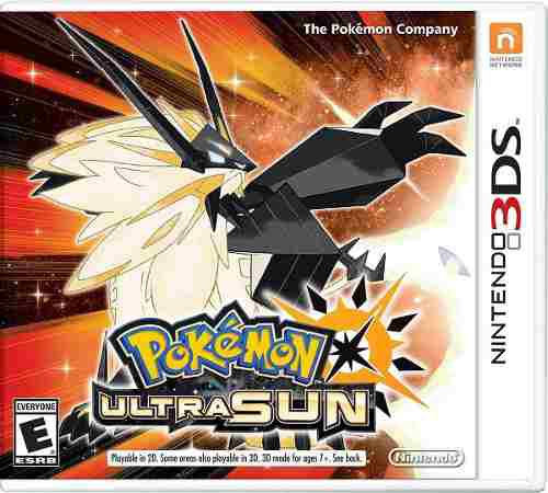 Pokemon Ultra Sun Nintendo 3ds 2ds Ultrasol Sellado + Regalo