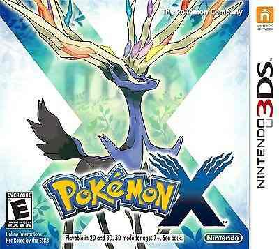 Pokemon X Nintendo 3ds Completo