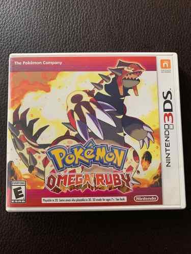 Pokémon Omega Ruby 3ds - Caja Y Juego Original 10/10