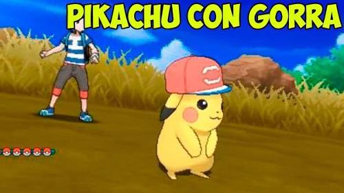 Pokémon Pikachu Con Gorra Evento + Regalo En La Compra De 6