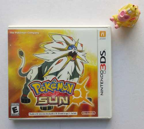 Pokémon Sun Nintendo 3ds Un Juegazo:)