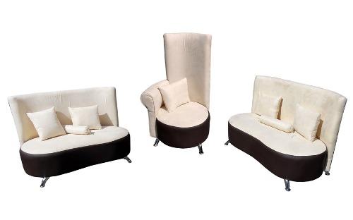Sala Vintage Retro Love Seat Sillón Individual Restro