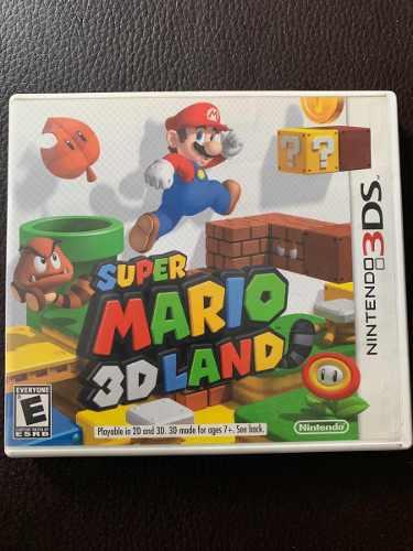 Super Mario 3d Land 3ds - Caja Y Juego Original 10/10