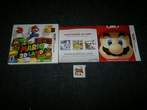 Super Mario 3d Land Completo Para Nintendo 3ds,excelente