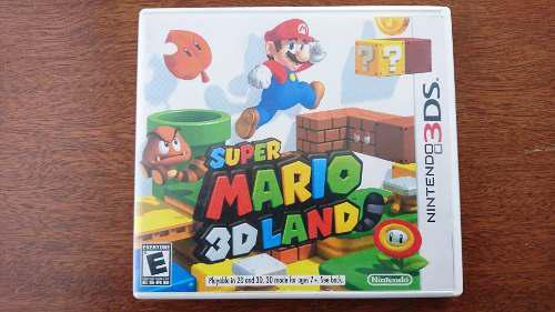 Super Mario 3d Land Nintendo 3ds Xl Envío