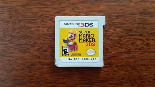 Super Mario Maker Nintendo 3ds Xl Envío