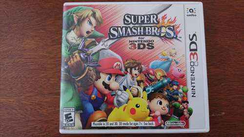 Super Smash Bros Nintendo 3ds Xl Envío