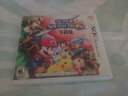 Super Smash Bros Para Nintendo 3ds. En Perfecto Estado.