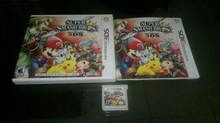 Super Smash Bros Para Nintendo 3ds,excelente Titulo,checalo
