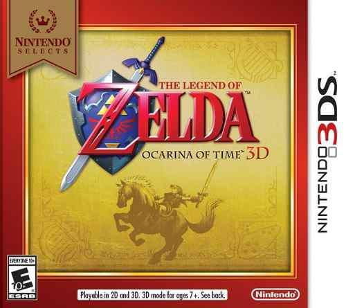The Legend Of Zelda Ocarina Of Time 3d 3ds Nuevo Citygame Ei
