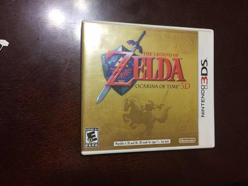 The Legend Of Zelda Ocarina Of Time 3ds
