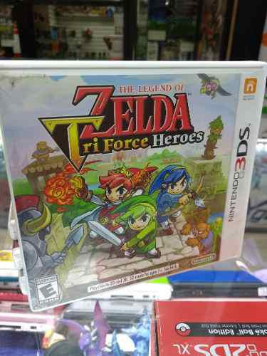 The Legend Of Zelda Tri Force Heroes Para Nintendo 3ds Y 2ds