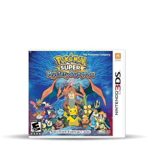Videojuego Pokemon Super Mystery Dungeon Nintendo 3ds Gamer