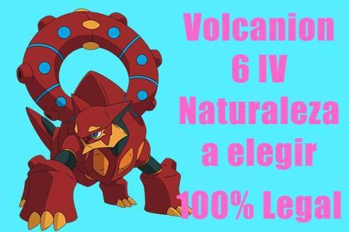 Volcanion Pokemon De Evento 6iv Competitivo