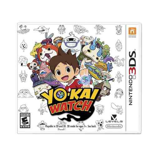 Yo Kai Watch - Nintendo 3ds - 2ds - New 3ds