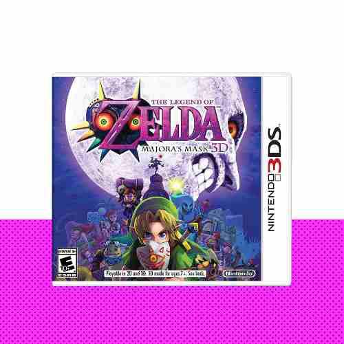 Zelda Majoras Mask 3d Original Nintendo 3ds | Mod Games