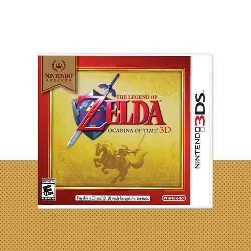 Zelda Ocarina Of Time 3d Original Nintendo 3ds | Mod Games