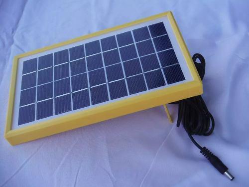 3 Panel Solar Portatil 3w Para Carga De Celulares