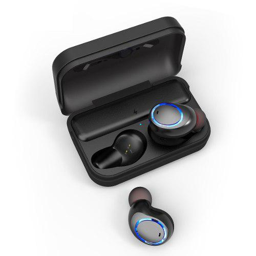 Audífonos Bluetooth T3 Tws Base Cargadora Resistentes Ipx4