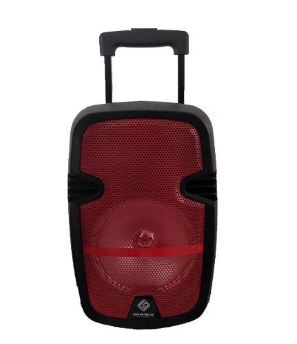 Bafle Amplificado 8 Pulgadas Bluetooth Portatil w Ruedas