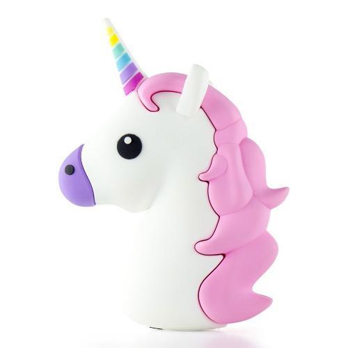Bateria Externa Power Bank Emoji Unicornio Bonito Universal