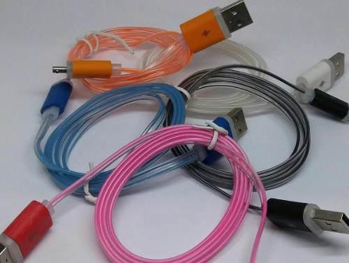 Cable Cargador V8 Con Luz Ep25454