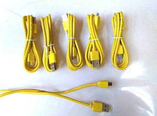 Cable Celular Micro Usb V8 Cargador Universal Android Carga