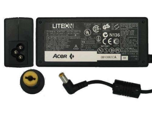 Cargador Acer Aspire Adp-65jh Db 19v 3.42a Punta Amarilla