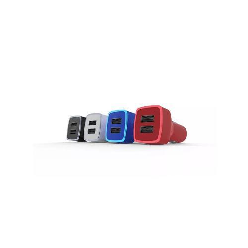 Cargador Celular Auto 5v 2.1a Usb Portatil Au-103 Vorago Bl