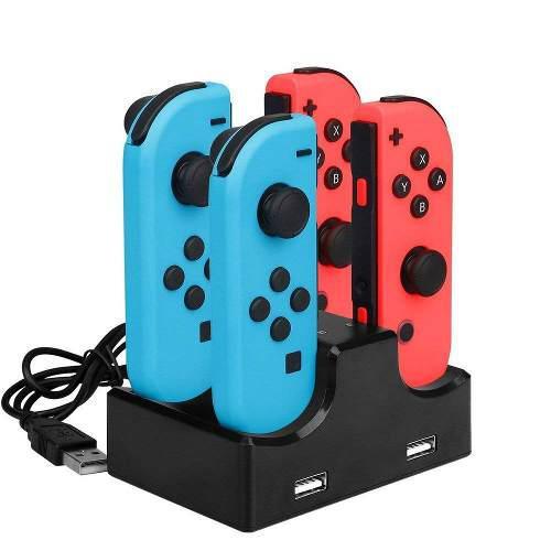 Cargador Control Joy Con Nintendo Switch Base Carga Control