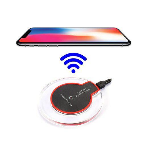 Cargador Inalambrico Wireless Qi Iphone 8 X Xs Max Samsung