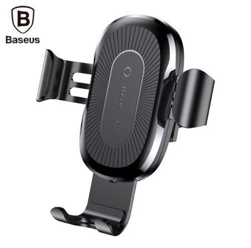 Cargador Inalámbrico Qi Auto Iphone Xs Max Xr X 8 Baseus