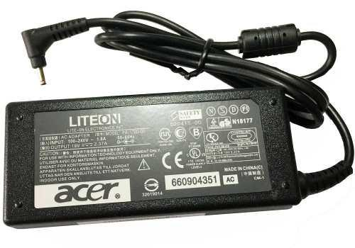 Cargador Laptop Original Acer 19v A 2.37a 45w 3.0x1.1mm