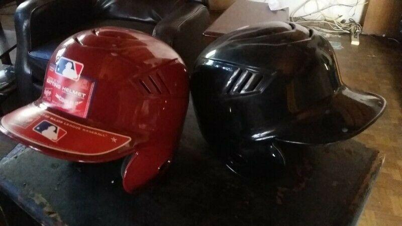 Cascos para Adulto XL Beisbol Rojo y Negro