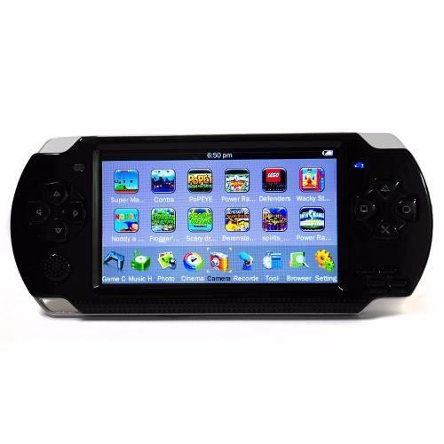 Consola Portátil Tipo P S P Con Más De  Juegos 8gb Mp5