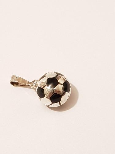 Dije De Balon De Futbol De Plata Estuche Y Envio Gratis