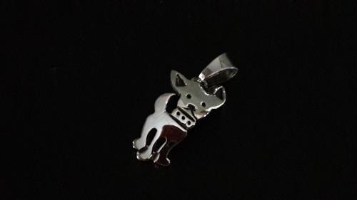Dije Perro Chihuahua Mascotas Perrito Plata Ley 925 Taxco