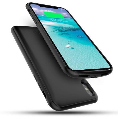 Funda Cargador Bateria Nuevo Iphone Xs Max Capacidad 5000mah