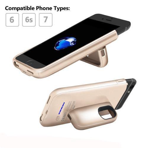 Funda Cargador Powerbank Iphone 6 Plus 6s Plus 7 Plus 8 Plus