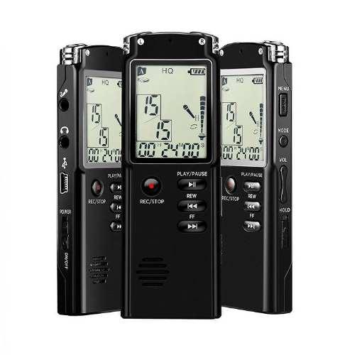 Grabadora De Voz Digital Profesional Graba Llamadas - T
