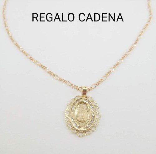 Hermosa Medalla Virgen De Oro Sólido 10k Primera Comunión