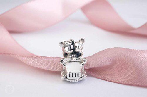 Pandora Charm Coche De Minnie & Mickey 100% Original