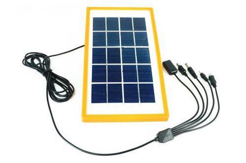 Panel Solar 3w Cargador Portatil De Celulares Y Otros T1249