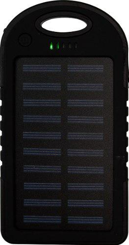 Power Bank Solar 10000 Mah Negro