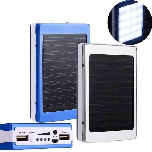 Power Bank Solar Bateria Recarga 15000mh Celular Ele-gate