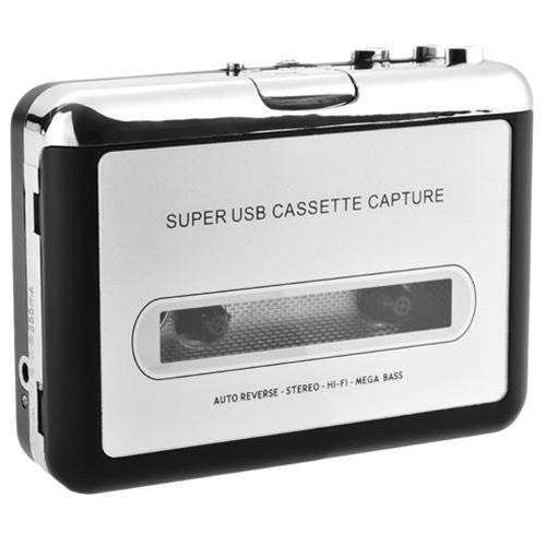 Reproductor Y Convertidor De Cassette A Mp3 Audio Digital