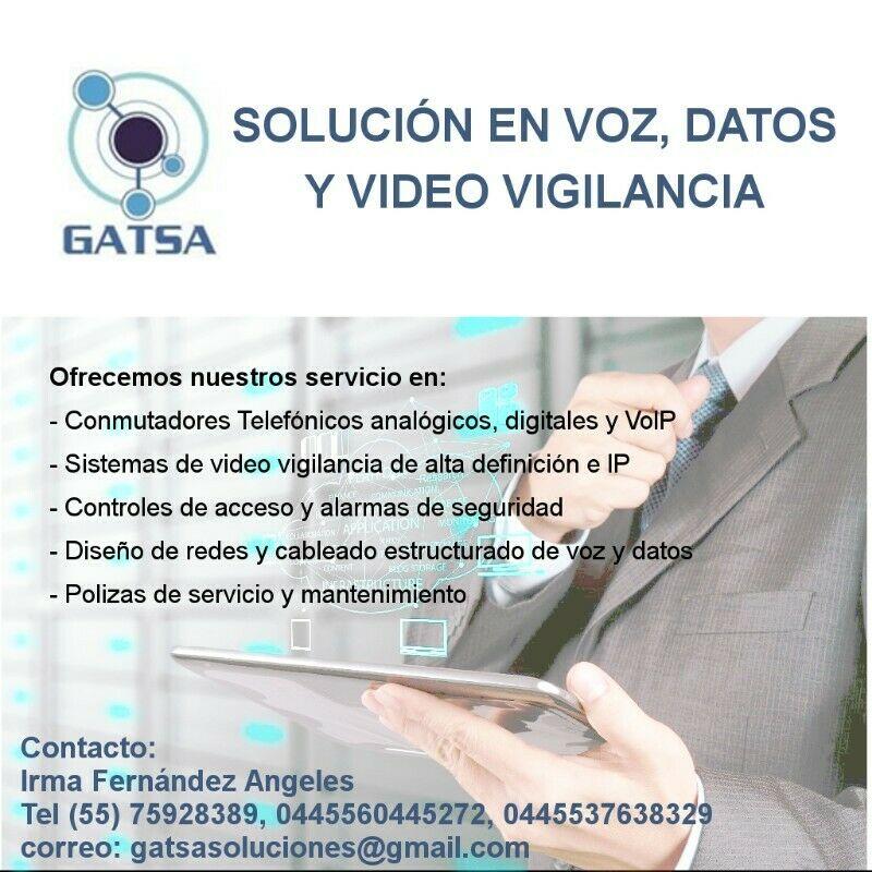 Servicio Telefonía, CCTV y Redes de Datos