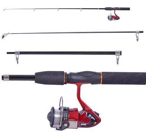 Caña Para Pesca Con Carrete Y Accesorios Df103 Ecom