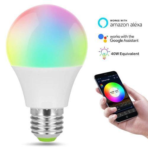 Foco Inteligente Wifi 4.5w Multicolor Alexa Google Home