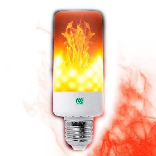 Foco Led Efecto Flama Fuego E26 E27 Ahorrador